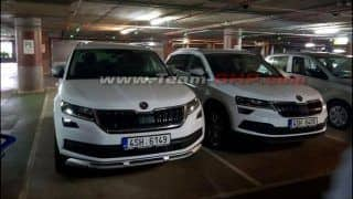 Skoda Karoq SUV Spotted in India; Launch Date, Expected Price, Images, Specs, Interior