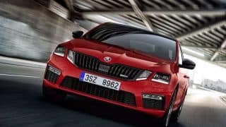 Skoda Octavia RS Launched; Price in India Starts at INR 24.62 Lakh