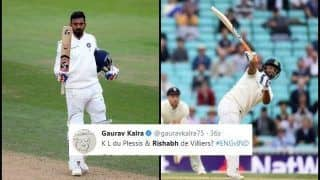 India vs England 5th Test Kennington Oval: After KL Rahul's 5th Test Century, Rishabh Pant Slams Maiden Fifty, Twitter Praises Duo