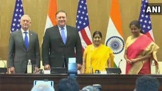 2+2 Dialogue Live News Updates: India, US Deliver Joint Briefing After Bilateral Meetings