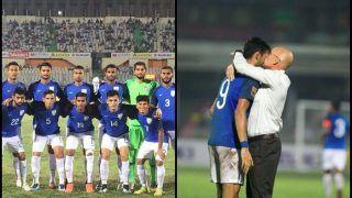 SAFF Championship 2018: India vs Pakistan Semi-Finals Match Report: Manvir Singh's Brace, Teamed With Sumeet Passi's Header Help India Thump Pakistan 3-1