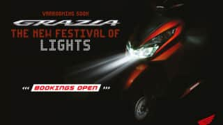 Honda Grazia Scooter Official Bookings Open; Price in India Likely to be around INR 65,000