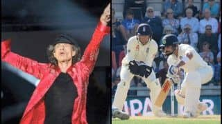 India vs England 5th Test Kennington Oval: Rolling Stones Lead Singer Mick Jagger To Donate Euro 20,000 For Every Century Scored to Charity