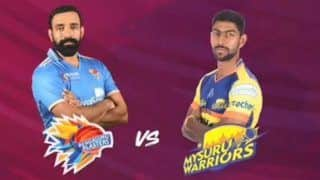 Karnataka Premier League 2018 Semi Final 1 Live Streaming Online: When And Where to Watch Bengaluru Blasters vs Mysuru Warriors Match Online Streaming and TV Broadcast, Timings in IST