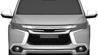 2016 Mitsubishi Pajero Sport patent images leaked: launch likely in 2016