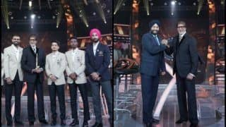 Move Over Asia Cup, Sardar Singh, PR Sreejesh, India Hockey Team Steals Hearts at Kaun Banega Crorepati, Amitabh Bachchan Lauds Dedication -- PICS