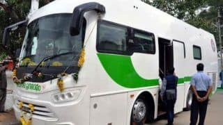 A 'Bulletproof Mercedes-Benz Bus' is the new ride for Telangana CM