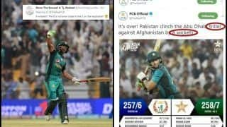 Asia Cup 2018 Super Four, Pakistan vs Afghanistan: Pakistan Win by 3 Wickets, Post 8 Wickets on PCB Handle, Goof-up Gets Trolled