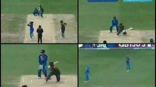 Asia Cup 2018, India vs Bangladesh Super Four: Ravindra Jadeja Picks Mushfiqur Rahim, Who Gets Caught by Yuzvendra Chahal Playing Reverse Sweep -- WATCH