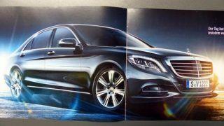 Leaked: 2014 Mercedes-Benz S-Class brochure