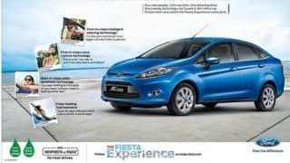 Ford launches the Fiesta experience campaign