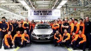 Volvo starts production of S60L long-wheelbase version in China
