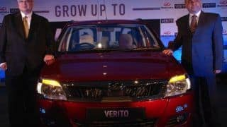 2012 Mahindra Verito Facelift launched at Rs 5.27 lakh