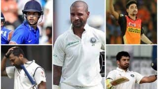 वेस्टइंडीज के खिलाफ टेस्ट सीरीज के लिए शिखर धवन टीम से बाहर, मयंक अग्रवाल और सिराज को मिला मौका