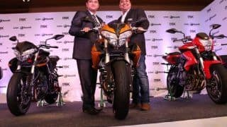 Benelli Superbikes come to Delhi, DSK announces its 8th dealership in India