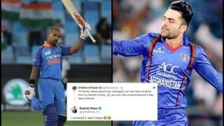 Asia Cup 2018 Super Four, India vs Pakistan: After Gautam Gambhir, Shikhar Dhawan's Twitter Account Hacked, Hacker Sends Message to Afghanistan's Rashid Khan