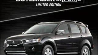 Mitsubishi Introduces Outlander Chrome limited edition