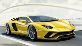 Lamborghini Aventador S launched in India at a price of INR 5.01 Cr.