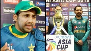 Asia Cup 2018: Need to be at Our Best to Beat India, Says Pakistan Skipper Sarfraz
