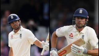 India vs England 5th Test Kennington: Alastair Cook on Farewell Scores 33rd Test Century, Pips Kumar Sangakkara in All-Time Highest Run-Getters List