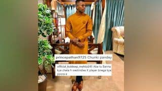 Asia Cup 2018: Hardik Pandya Again Draws Trolls, This Time on Instagram For His Traditional Ganesh Chaturthi Look -- PIC