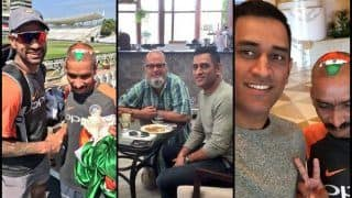 After Shikhar Dhawan, Super Fan Sudhir Gautam Has Breakfast With Former Indian Captain MS Dhoni After Asia Cup 2018 Win Over Bangladesh - PICS