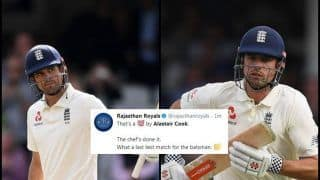 India vs England 5th Test Kenington Oval: Alastair Cook Hits 33rd Ton in Farewell Test, Twitter Erupts in Joy