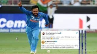 Asia Cup 2018, India vs Bangladesh Super Four: Bharatiya Janata Party-Congress Battle on Twitter Over Kedar Jadhav's Bowling Action is Insane