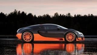 Bugatti Veyron, the fastest supercar? Not anymore