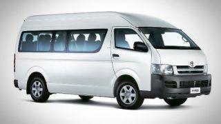 Toyota HiAce in India: Toyota Kirloskar showcases its ten-seater commuter vehicle 'HiAce'
