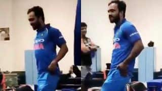 Asia Cup 2018 Super Four: Kedar Jadhav Dancing After Win Over Pakistan in Super Four is The Most Hilarious Thing on Internet Today -- WATCH