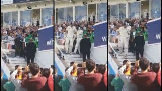 India vs England 5th Test Day 3 Kenington Oval: Alastair Cook on Farewell Walks Out to Bat One-Lat Time to Rousing Applause -- WATCH