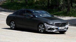2014 Mercedes Benz C-Class spied