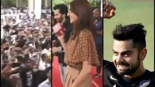 India vs England 4th Test Southampton: Fans Cheer For Virat Kohli During Anushka Sharma's 'Sui Dhaga' Promotion With Varun Dhawan -- WATCH