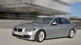 2014 BMW 5-Series Facelift to launch in India on 10 October, 2013