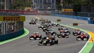 F1 cars to go purely electric in the pit lanes in 2014