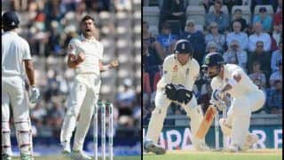 India vs England 4th Test Day 4 Southampton Match Report: Virat Kohli, Ajinkya Rahane's Half Centuries Go in Vain as England Win Series 3-1