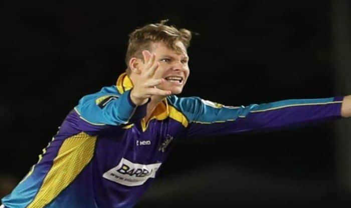 6a910224c90b0 Caribbean Premier League 2018  Barbados Tridents  Steve Smith Ruled Out  After Side Strain
