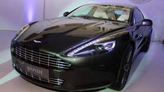 Aston Martin One-77 and Rapide unveiling videos