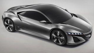 Honda to debut the new NSX at 2013 Detroit Motorshow