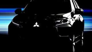 2016 Mitsubishi Pajero Sport teased ahead of debut on August 1, 2015: India launch in 2016-17