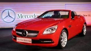 Mercedes launches new SLK