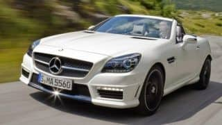 Official: 2012 Mercedes Benz SLK55 AMG (video)
