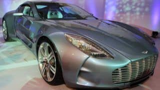 Aston Martin launches the One-77
