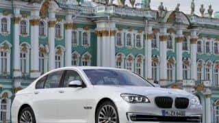 Official: 2013 BMW 7-series facelift to be launched on April 25, 2013