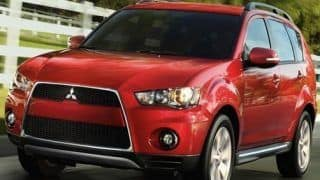 2012 Mitsubishi Outlander 7 seater Crossover launched