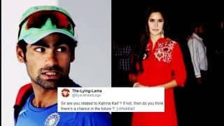 Cricketer Mohammed Kaif 'Clears Air' on Connection With Bollywood Actress Katrina Kaif After Fan Asks Uncomfortable Question