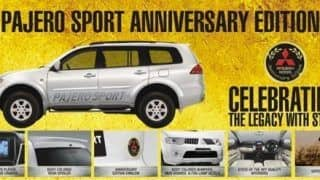 Mitsubishi India launches Pajero Sport Anniversary Edition