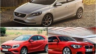 Volvo V40 VS Mercedes-Benz A-Class VS BMW 1 Series: Price, Specs and Technical features