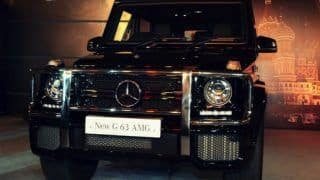 Video: 2013 Mercedes Benz G63 AMG being unveiled in India